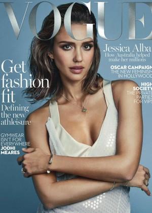 Jessica Alba: Vogue Australia 2016 -07