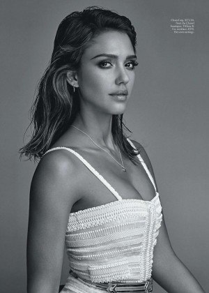 Jessica Alba - Vogue Australia Magazine (February 2016)