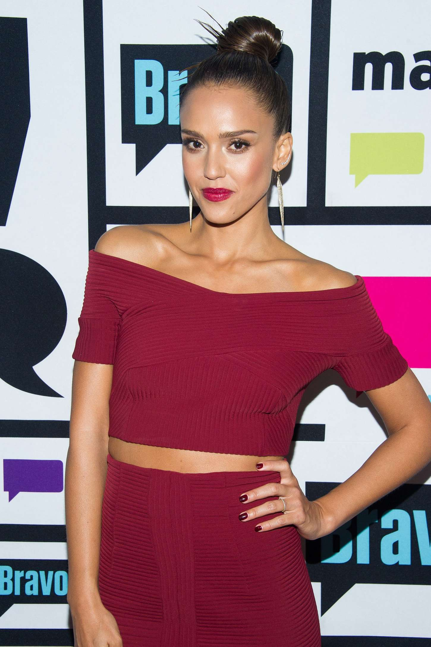 Jessica Alba - 'Watch What Happens Live' in New York