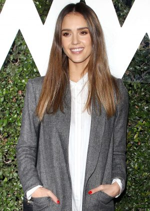 Jessica Alba - Who What Wear 10th Anniversary in Los Angeles