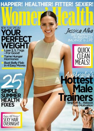 Jessica Alba - Women's Health Australia Magazine (January 2017)