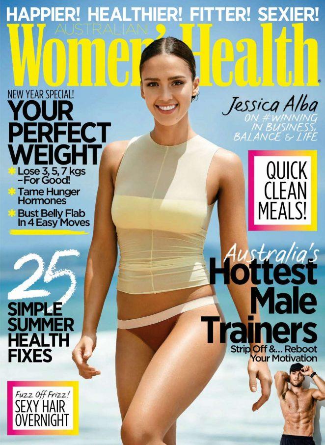 Znalezione obrazy dla zapytania jessica alba women's health mag