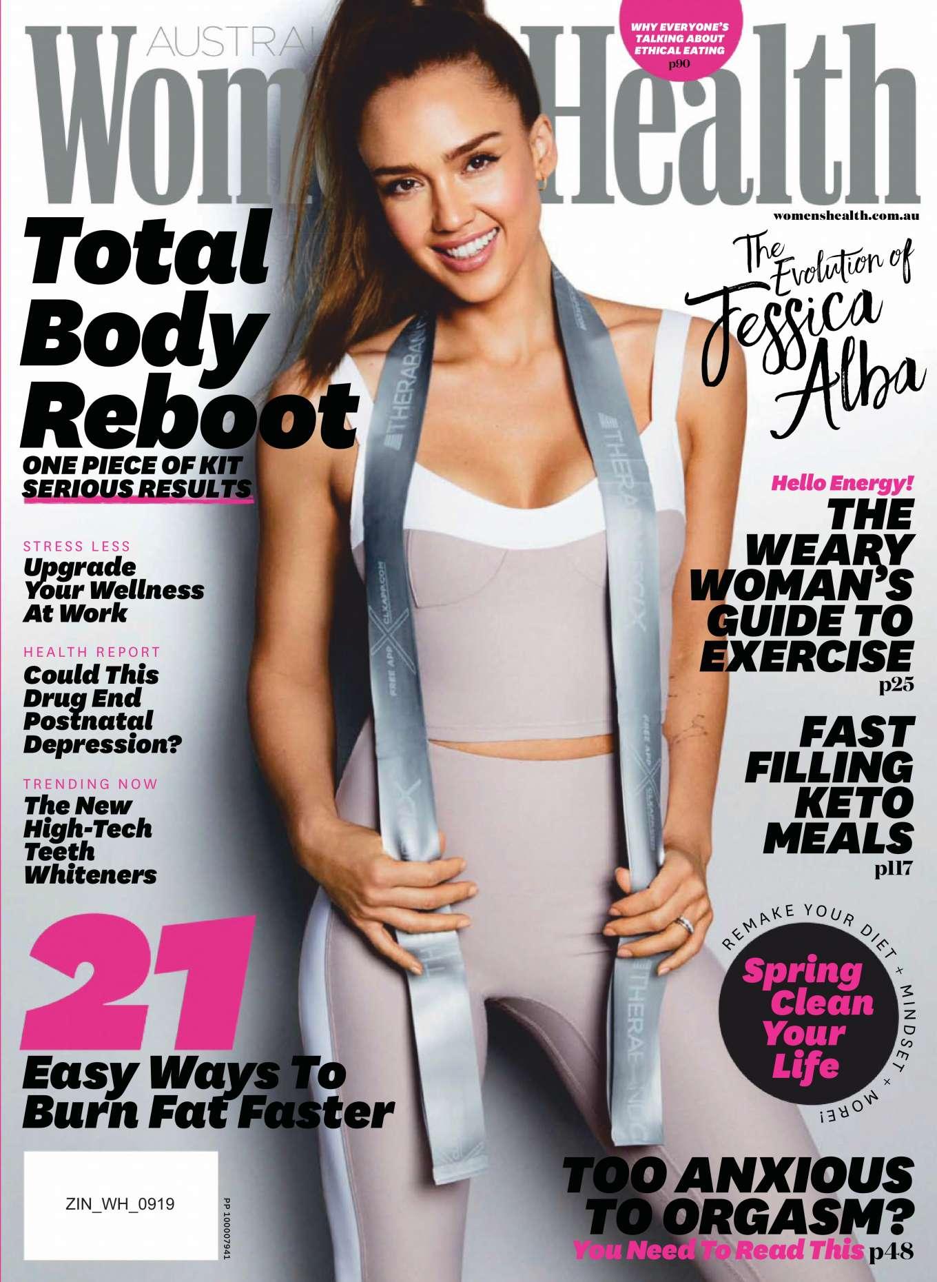 Jessica Alba 2019 : Jessica Alba –  Womens Health Australia 2019-05