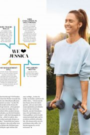 Jessica Alba - Women's Health Deutschland Magazine (November 2019)