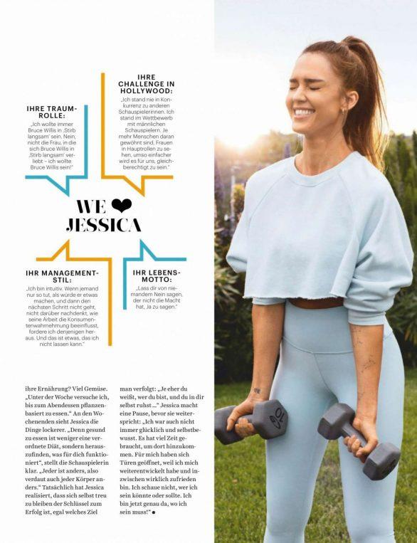 Jessica Alba - Women's Health Deutschland Magazine (November 2019)