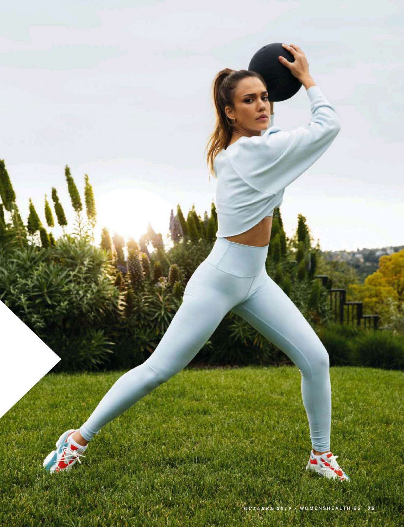Jessica Alba - Women's Health Espana Magazine (October 2019)