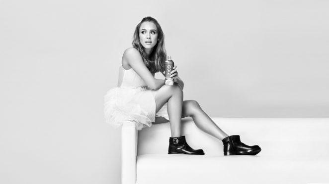 Jessica Alba - ZICO Photoshoot 2016