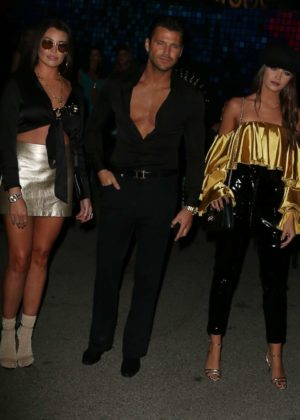 Jessica and Natalya Wright - 2017 Tequila Casamigos Annual Halloween Bash in LA