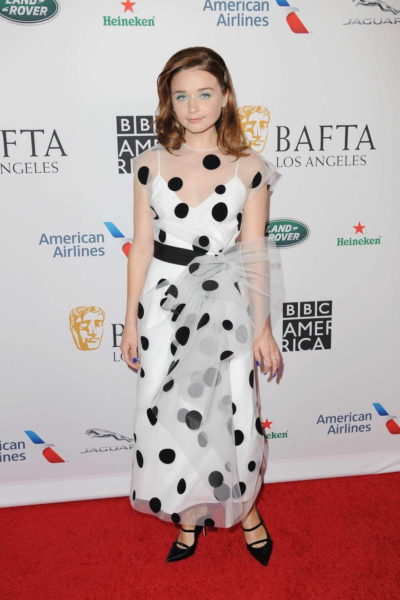 Jessica Barden - BAFTA Los Angeles + BBC America TV Tea Party 2019 in LA