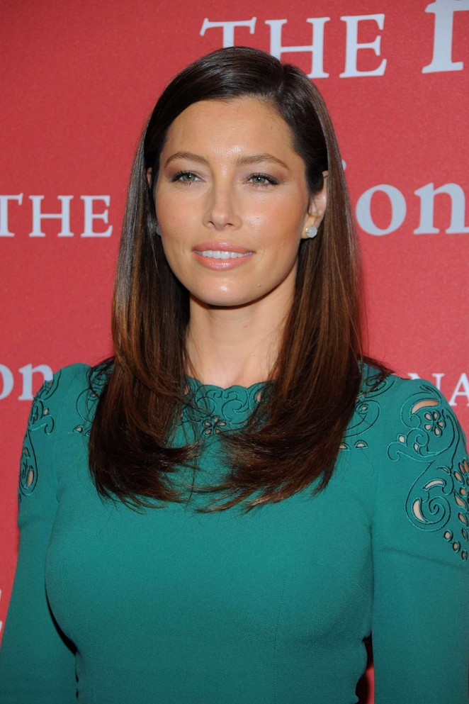 Jessica Biel – 2015 Fashion Group International Night of Stars Gala in NY
