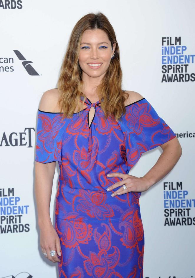 Jessica Biel - 2016 Film Independent Spirit Awards in Santa Monica