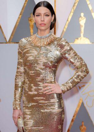 Jessica Biel - 2017 Academy Awards in Hollywood