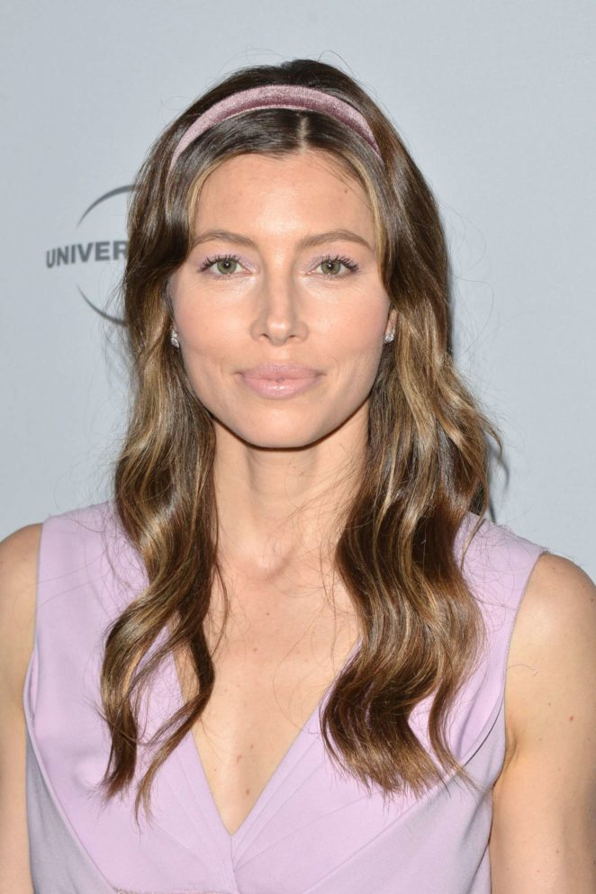 Jessica Biel - 2017 NBCUniversal Holiday Kick Off Event in LA