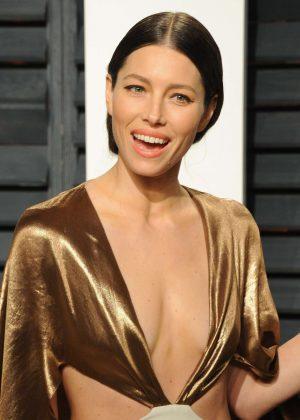 Jessica Biel - 2017 Vanity Fair Oscar Party in Hollywood
