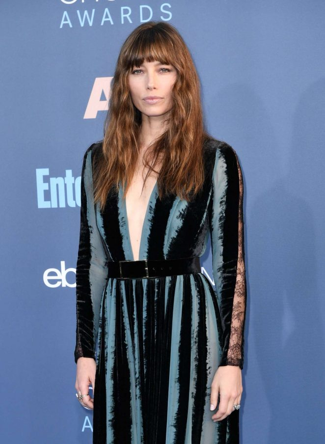 Jessica Biel - 22nd Annual Critics' Choice Awards in Los Angeles