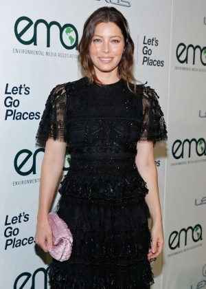 Jessica Biel - 2015 EMA Awards in Burbank
