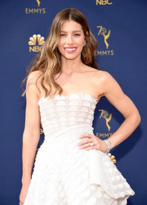 Jessica Biel - 2018 Emmy Awards in LA