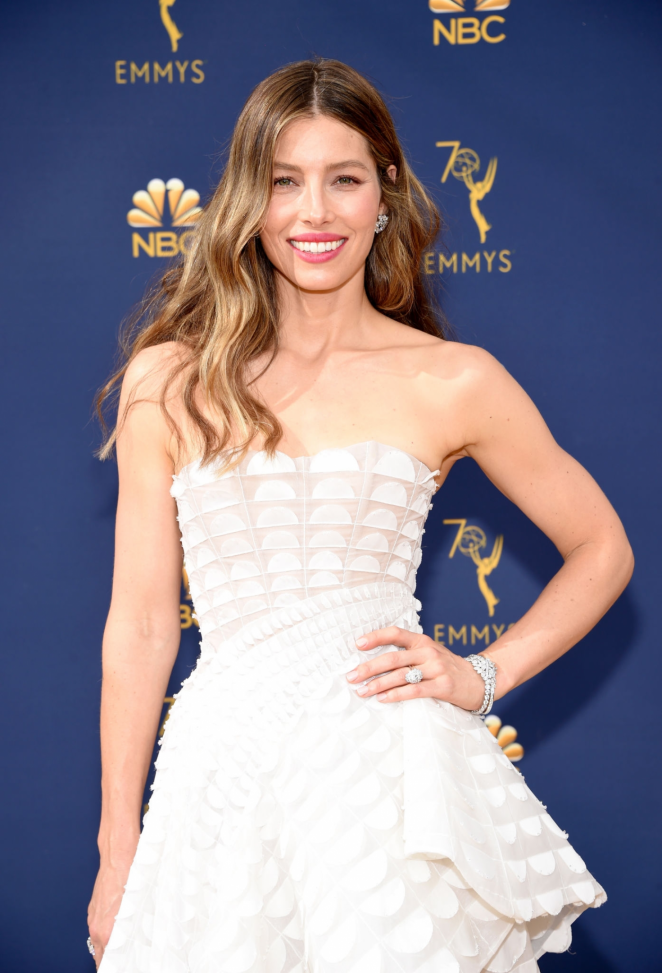 Jessica Biel - 2018 Emmy Awards in LA