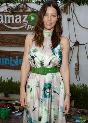 Jessica Biel - Amazon Video's Tumble Leaf Family Fun Day in LA