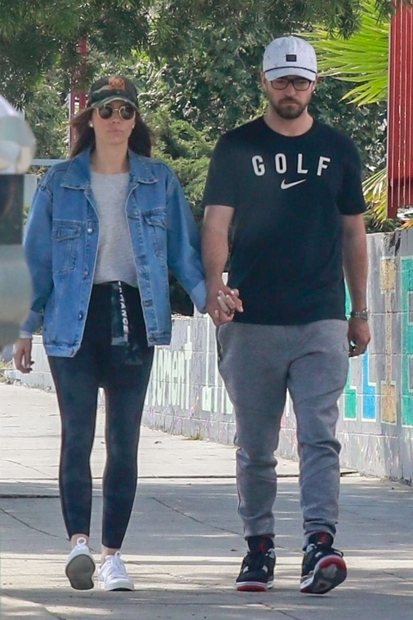 Jessica Biel and Justin Timberlake - Out in Los Feliz