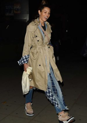 Jessica Biel - Arriving at Annabel's in London