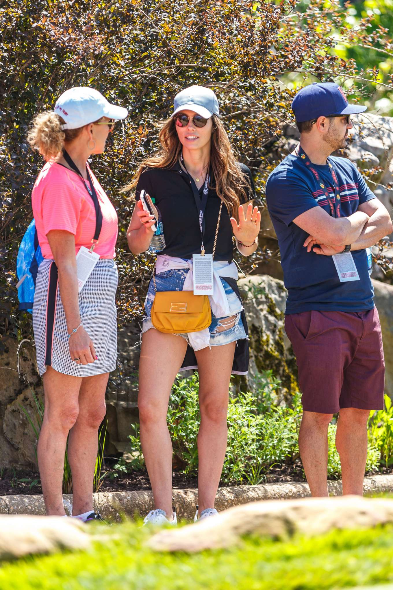 Jessica Biel at the Bass Pro Shops Legends of Golf Tournament in Ridgedale