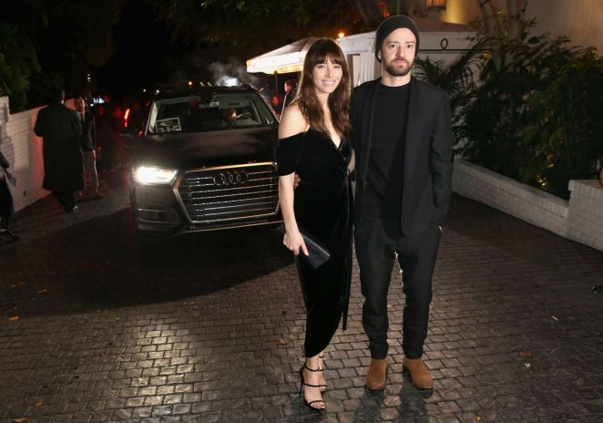 Jessica Biel - Audi Arrivals at W Magazine's Best Performances Party in LA