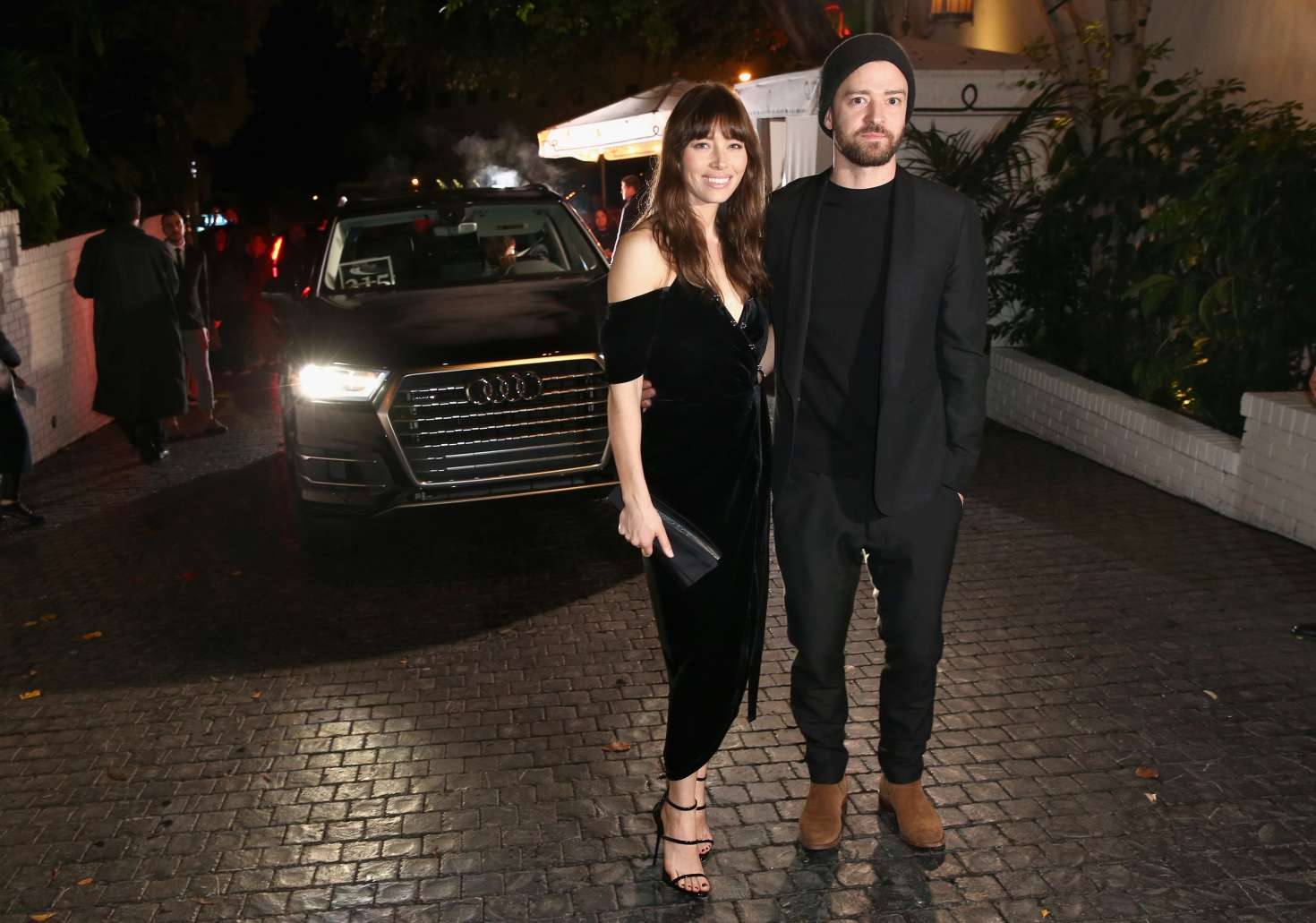 Jessica Biel - Audi Arrivals at W Magazine's Best Performances Party in LA
