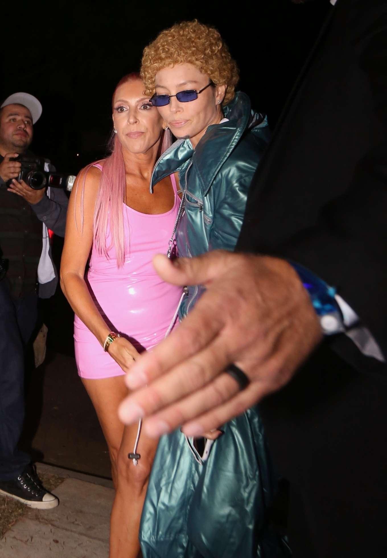 Jessica Biel - Casamigos Halloween Party 2019 in Beverly Hills