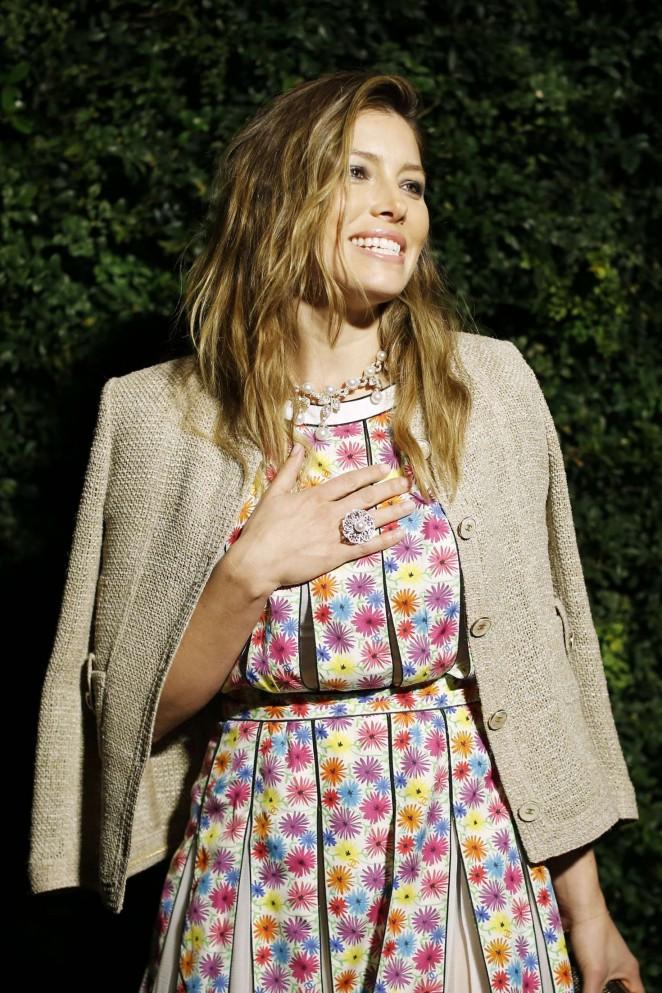 Jessica Biel - Charles Finch and Chanel Pre-Oscar Dinner 2016 in LA