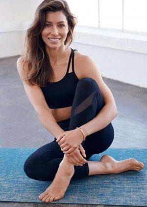 Jessica Biel - 'Gaiam' Yoga Wear Collection 2018 adds