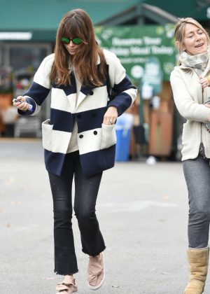 Jessica Biel grocery shopping out in Los Angeles