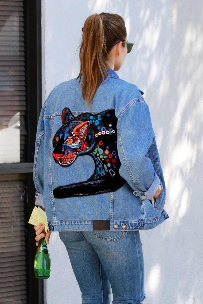 Jessica Biel in Ripped Jeans out in LA