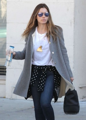 Jessica Biel is seen out in Los Angeles