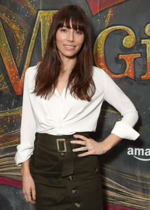 Jessica Biel - 'Just Add Magic' Season 2 Premiere in West Hollywood