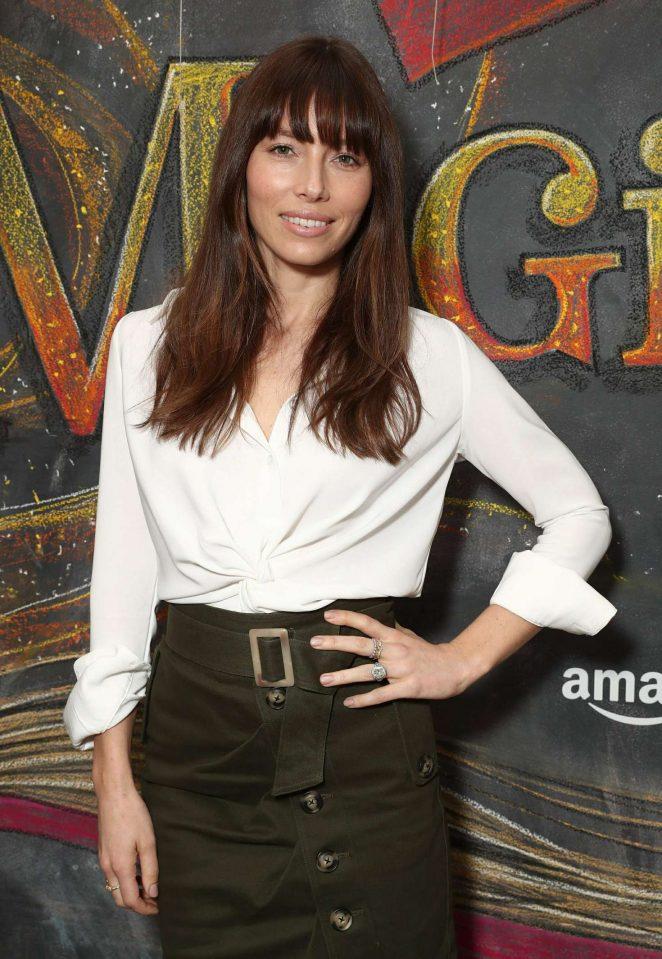 Jessica Biel - 'Just Add Magic' Season 2 Premiere in West Hollywood