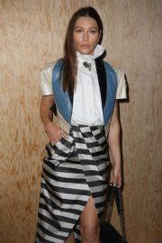 Jessica Biel - Louis Vuitton Womenswear SS 2020 Show at Paris Fashion Week