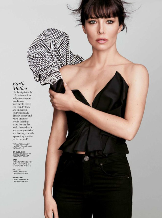 Jessica Biel - Marie Claire Malaysia (December 2017)