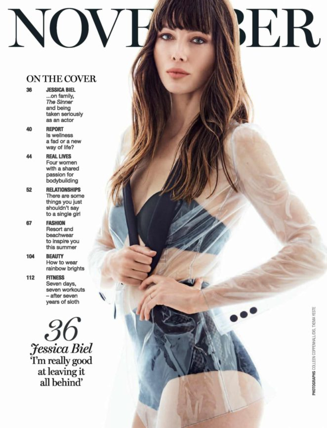 Jessica Biel - Marie Claire South Africa Magazine (November 2017)
