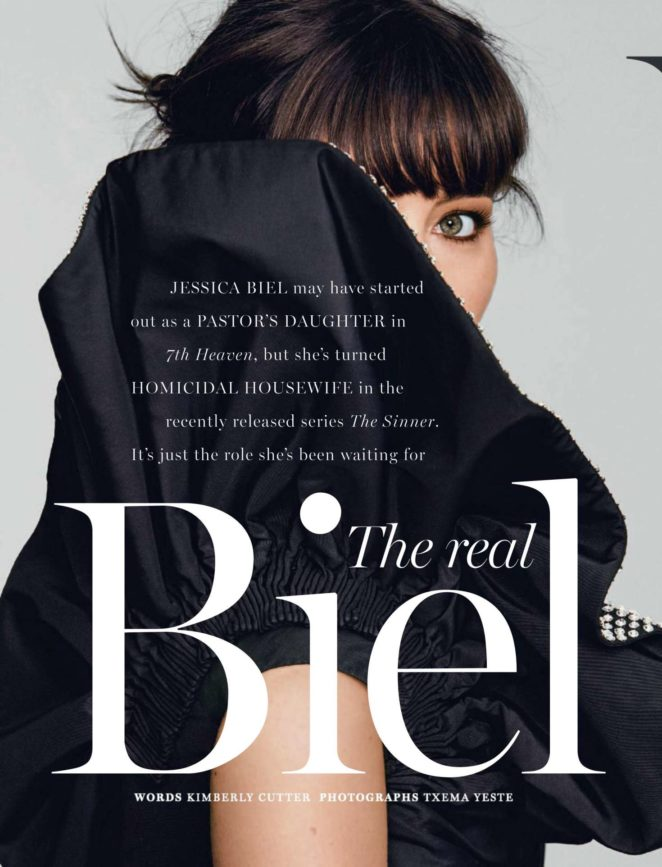 Jessica Biel: Marie Claire South Africa 2017 -02