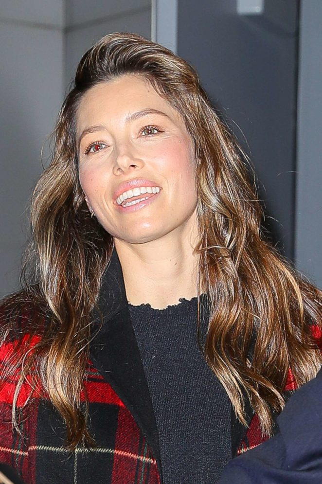 Jessica Biel out and about in New York City