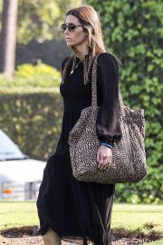 Jessica Biel - Out for a business meeting in Beverly Hills