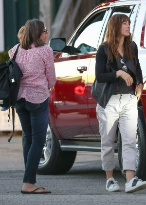 Jessica Biel out in Charleston