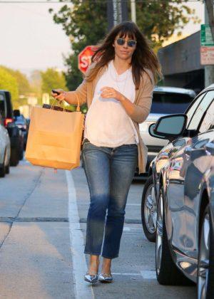 Jessica Biel out in LA