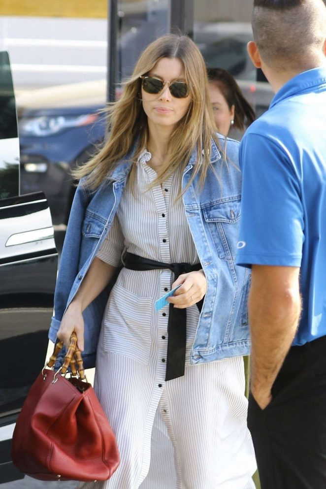Jessica Biel - Out in Los Angeles