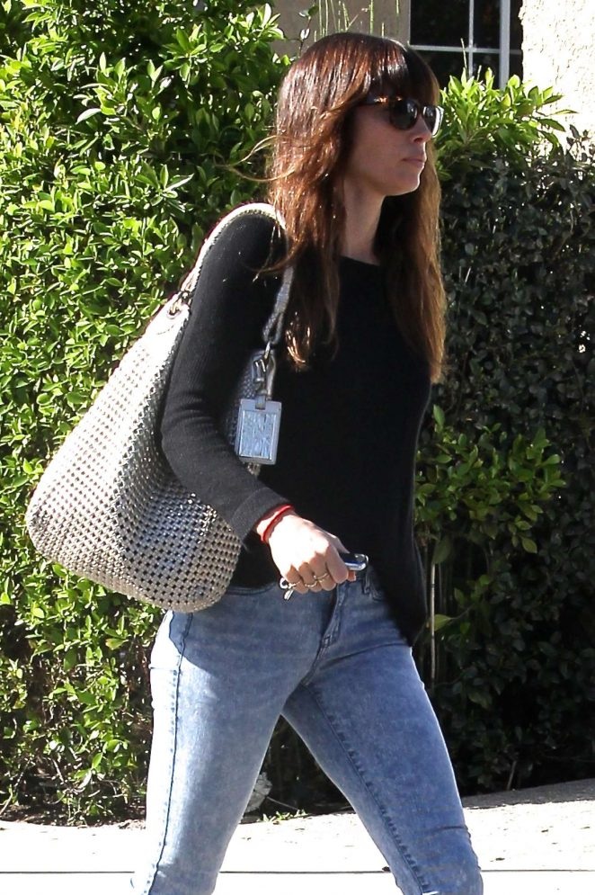 Jessica Biel out in Studio City