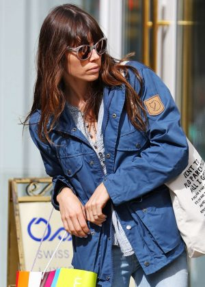 Jessica Biel out shopping in Soho