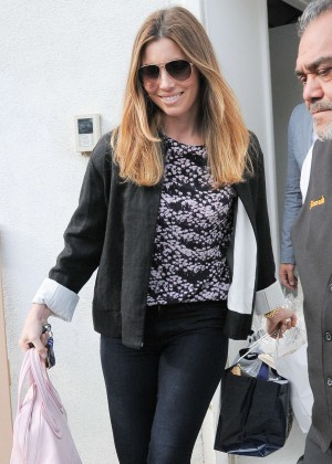 Jessica Biel - Shopping in Beverly Hills