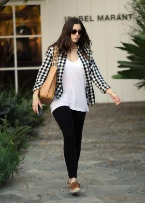 Jessica Biel: Shopping in Los Angeles -12