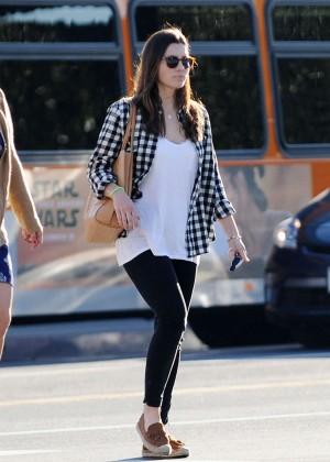 Jessica Biel: Shopping in Los Angeles -16